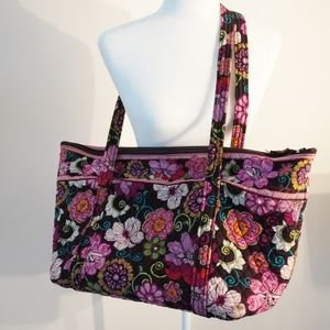 2 Pieces! Vera Bradley Quilted Duffel & Tote Bag